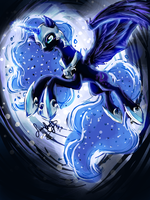 Nightmare Moon by JaDeDJynX