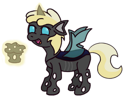 Dinky the Changeling. by GoggleSparks
