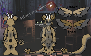 Angel Dragon Auction - Fazbear's Favorite [Closed] by Mamafluff