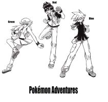 Pokemon Adventures or Special by RustyArtist