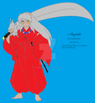 Colored Inuyasha Lineart by cam6
