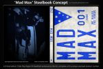 Mad Max (1979) Blu-ray Steelbook Cover Design by CrustyDog