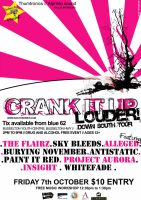 Crank It Up - Poster gig 4 by ximmer