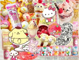Kawaii Pack 18 PNG by MaritzaTrigo