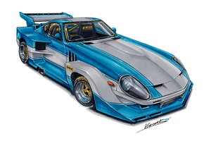Datsun 240ZG Super Silhouette by vsdesign69