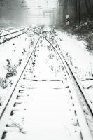 winter on the line 01 by quasiohnemodo