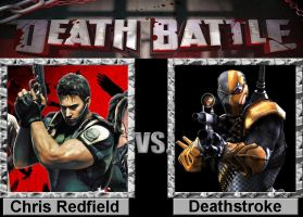 Death Battle: Chris vs Deathstroke by porygon2z