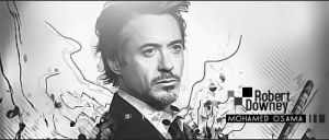 Robert Downey by MohamedGfx