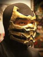 Scorpion MK9 Mask by arekusu83