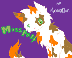 Mosspelt of MoonClan by Nixhil