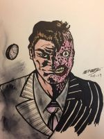 Two-face by ansem-the-dead