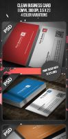 Clean Business Card by VadimSoloviev