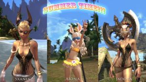Summer time on Tera by Sxania