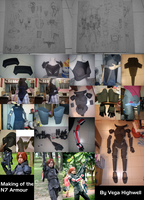 Mass Effect N7 Armour Production Diary by Vega-Highwell