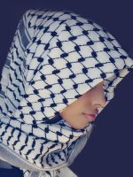 Palestine hood stock 2 (hijab) by Desert-Winds