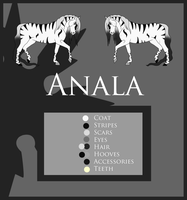 Anala - Reference Sheet by Crystal-Cinders