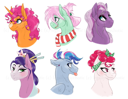 ~ the NOT SO MANE six ~ by legally-psychotic