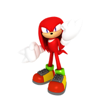 Knuckles be flexin by Monochrome-Mix