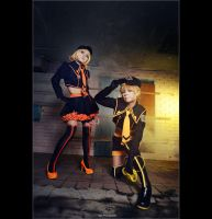 Kagamine Twin - Love Philosophia by vaxzone