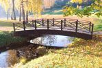 Bridge in fall by BangaLiquid