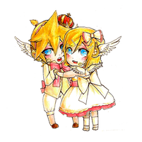 Magnet - Rin and Len by maocha