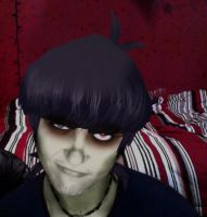 Photoshoped WIP Murdoc Cosplay by krazorspoon