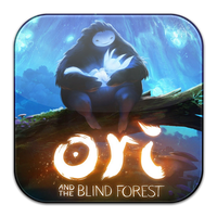 'Ori and the Blind Forest' Icon in Flurry by asmodeopt