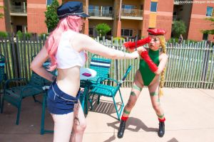 ColossalCon 2016 - Beach Fighter(PS) 01 by VideoGameStupid