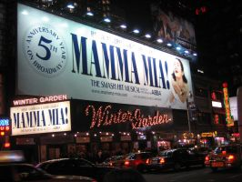 Mamma Mia on Broadway by weut