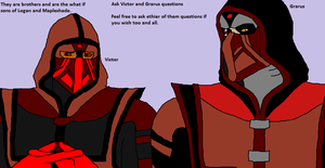 Ask Grarus and Victor questions by Natalia-Clark