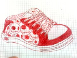 Skate Shoe Doodle by crazychocolate