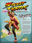 Street Fighter: DESTINY Jam - Liling by Robaato