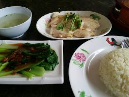 Kampong Chicken Rice by nosugarjustanger
