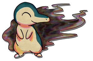 A Smokey Cyndaquil by LunumbraNecro