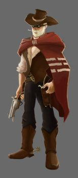 Cowboy Concept by Turkiish
