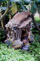 Faery house a closer look by sevenwillow