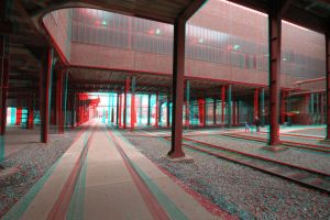 Zollverein 2 ---Anaglyph--- by Mintberry-Crunch