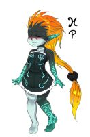 Cute Midna by ManiacPaint