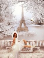 Ice age in Paris by BiBiARTs