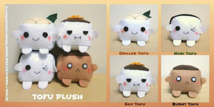 ON SALE NOW Tofu Plush (New Version) by Blakmyre