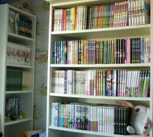 My manga collection by Val-Krayon
