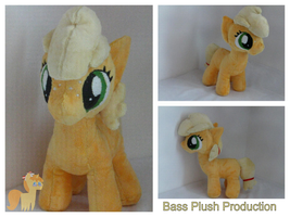 Applejack Filly Plushie by BassPlushProductions