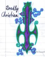 Tattoo Design:Deadly Christian by Alucard-Solvdow