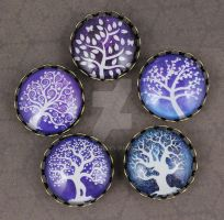Tree of Life Magnets by Seralunai