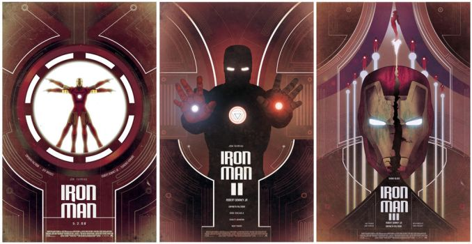 IRON MAN POSTERS by Barbeanicolas