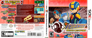 Boxart: Megaman Battle Network Collection vol. 2 by DPghoastmaniac2