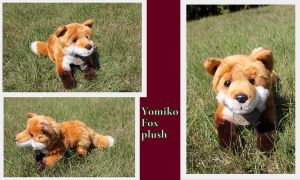 Yomiko Classics Fox plush by Laurel-Lion