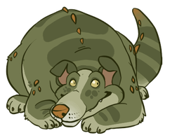 Gator Dog by Kiboku