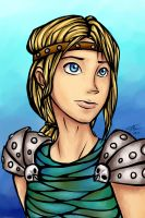 HTTYD: Astrid by Mergreze