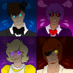 FIVE NIGHTS AT FREDDY'S by Izzydactyl